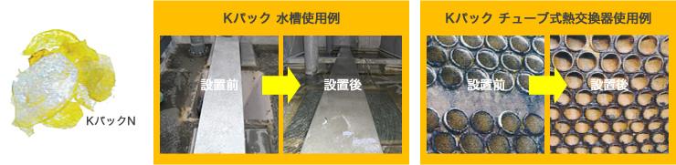 冷却水浄化システム Kパック